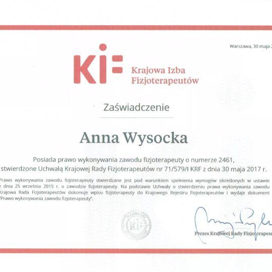 Anna Wysocka
